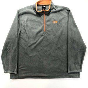 The North Face 1/4 Quarter Zip Fleece Pullover 3XL